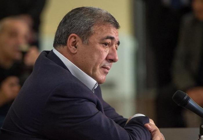 Ermənistan Futbol Federasiyasının sabiq prezidenti saxlanıldı