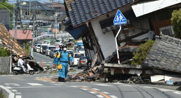 زلزال بقوة 7 درجات يضرب اليابان