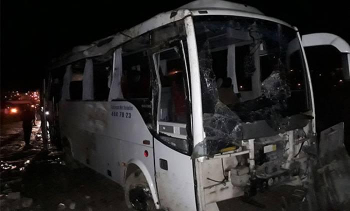 Türkiyədə avtobus qəzası: 43 turist yaralanıb