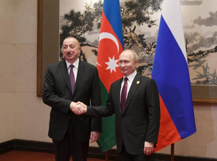 Putin İlham Əliyevi təbrik edib