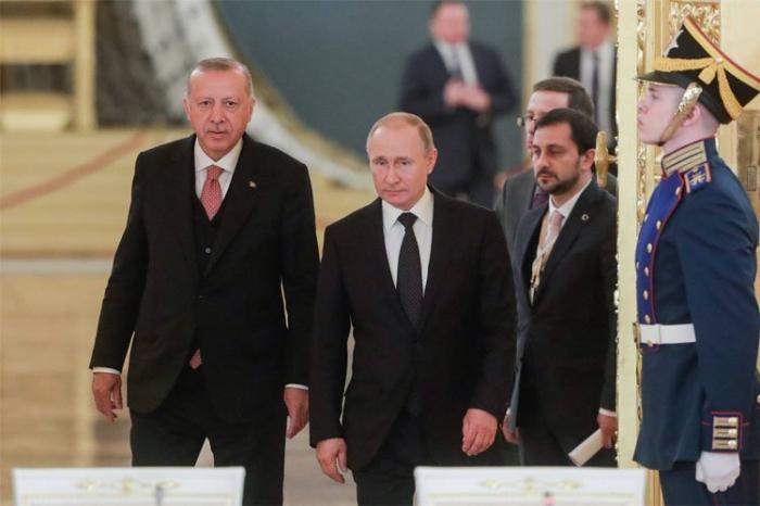 Ərdoğanla Putin İdlibi müzakirə edib