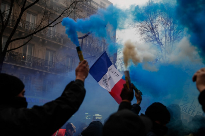 The Battle for French pension reform -   OPINION
