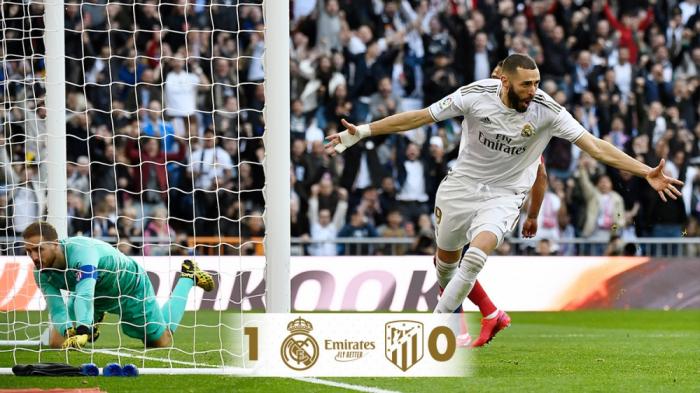 Madrid derbisi minimal hesabla başa çatdı