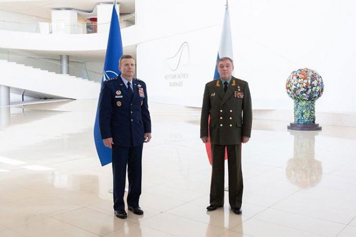 Rusiya və NATO generalları Bakıda görüşdü