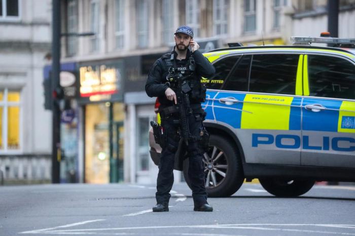 Police shoot man dead after London stabbing attack described as terrorism