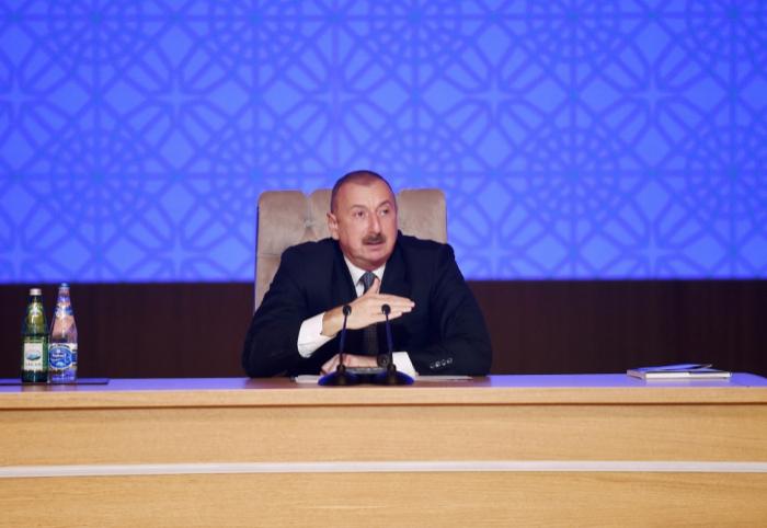 """""""Hər kəs mükafatını da, cəzasını da öz əməlinə görə alacaq"""" - Prezident"""