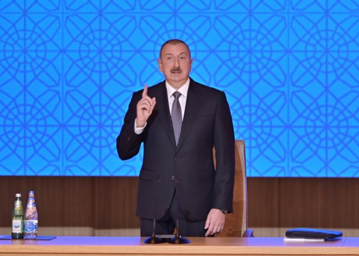 """Prezident: """"Azərbaycanda siyasi məhbus yoxdur"""""""