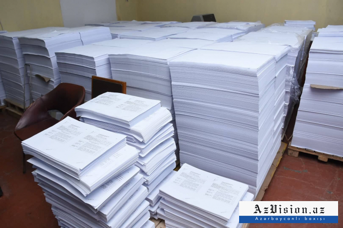 Period for issuing ballots to district election commissions ends in Azerbaijan