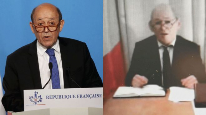Seven on trial for fake French minister Le Drian scam