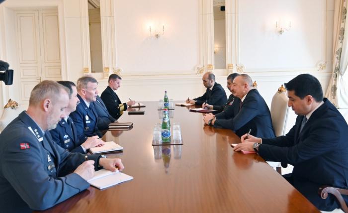 NATO-nun Avropadakı Ali Komandanı Prezidentin qəbulunda - YENİLƏNİB