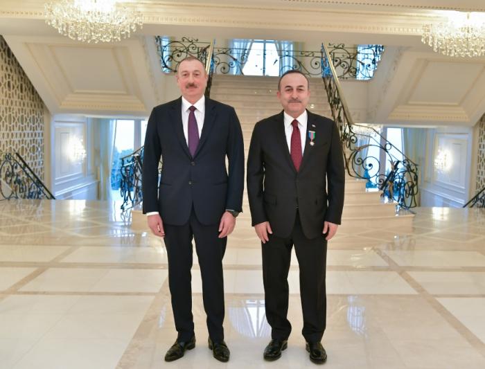 """Çavuşoğlundan """"Dostluq"""" ordeni ilə bağlı paylaşım - FOTO"""