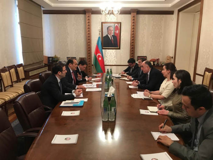 Azerbaijani FM meets Turkic Council Sec-Gen