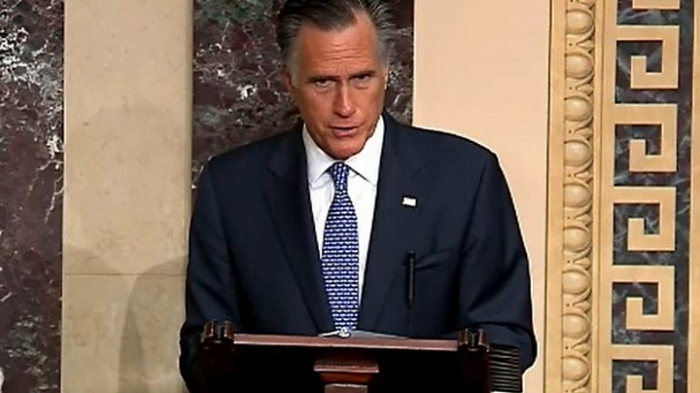 Mitt Romney to vote to remove Trump, defying Republican party