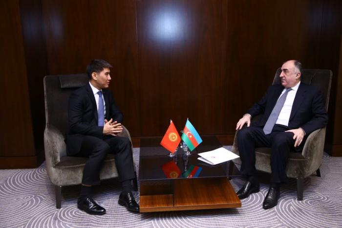 Azerbaijan, Kyrgyzstan discuss cooperation agenda