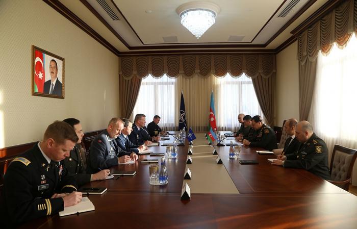 Chief of Azerbaijani General Staff, NATO Gen. discuss Karabakh conflict
