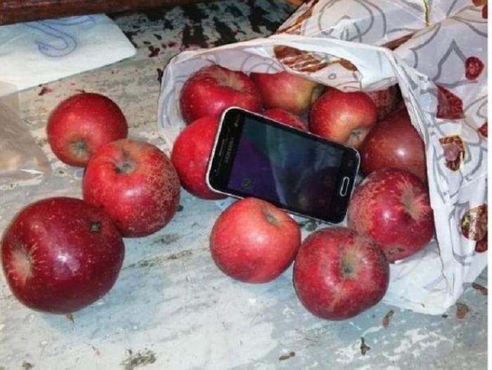 Həbsxanaya gizli yolla telefon keçirmək istədi - FOTO