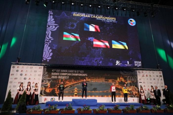 Karateçilərimizdən Avropa çempionatında rekord nəticə