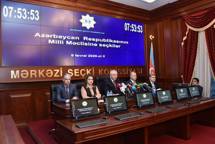 CEC: All conditions created for free voting in Azerbaijan