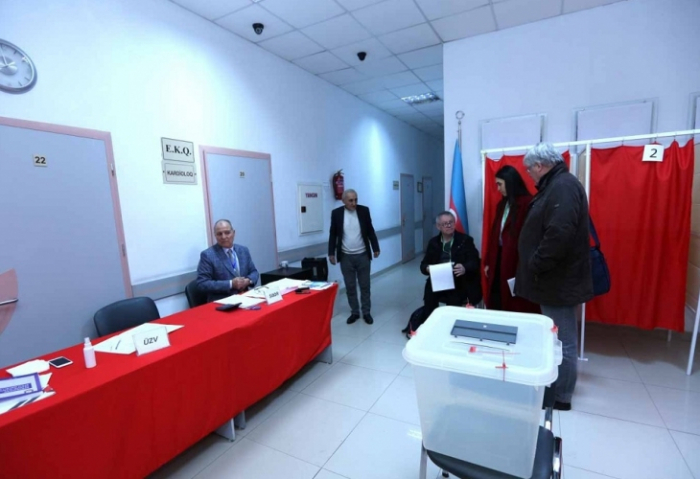 PACE delegation observes parliamentary election in Azerbaijan
