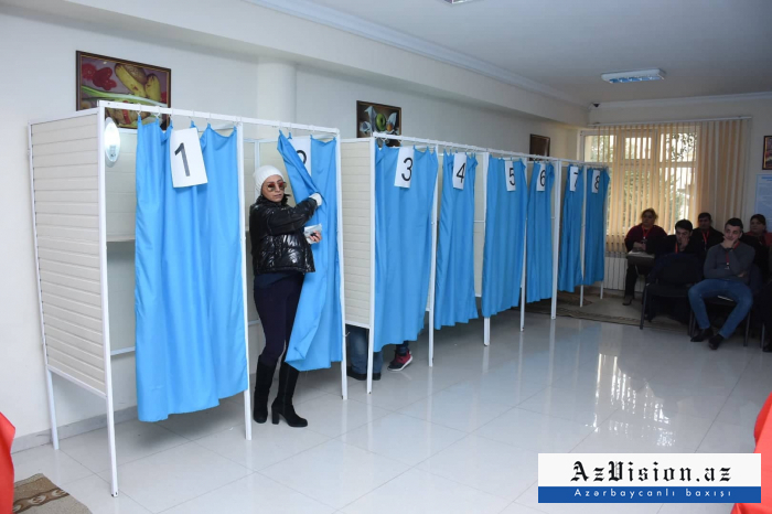 Azerbaijani CEC discloses voter turnout in parliamentary elections as of 15:00