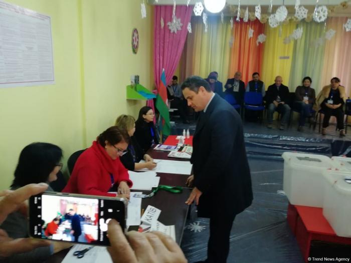 All conditions for voting at elections created in Azerbaijan - Spanish observer