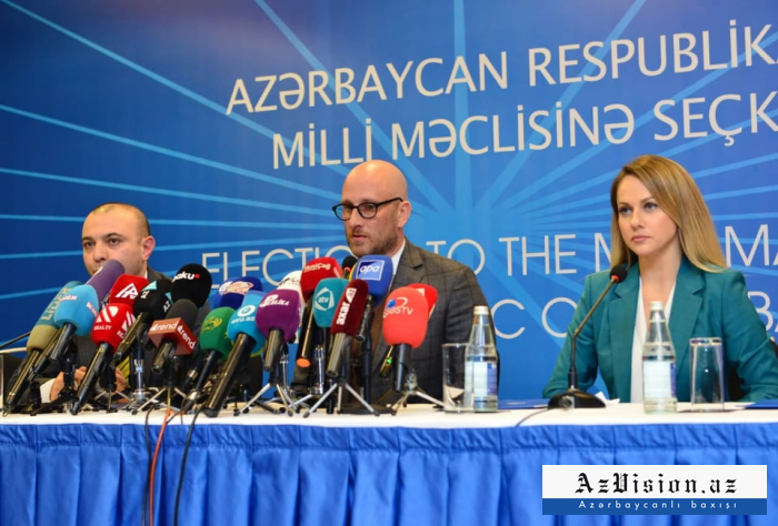 US polling firm announces results of exit poll at Azerbaijan's parliamentary elections