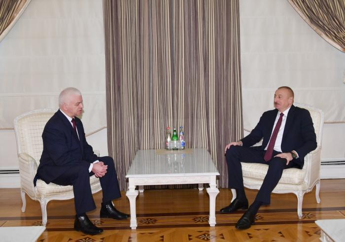 Präsident empfängt Leiter der GUS-Beobachtungsmission