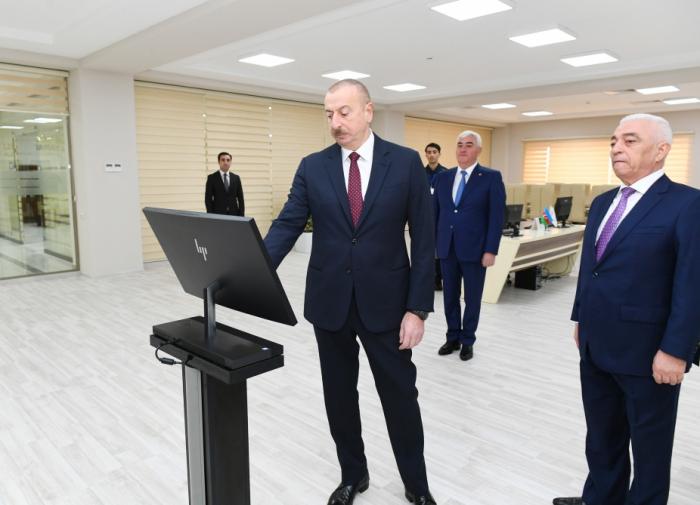 """Prezident """"Dübəndi"""" yarımstansiyasının açılışında - FOTOLAR (Yenilənib)"""