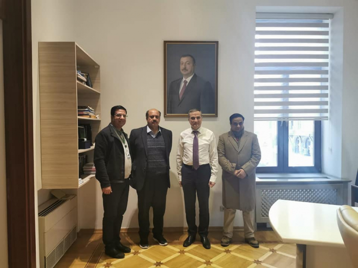 Pakistan CGSS delegation visits Azerbaijan Center of Analysis of Int'l Relations