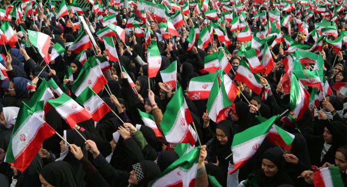 Irán festeja el 41 aniversario de la Revolución islámica