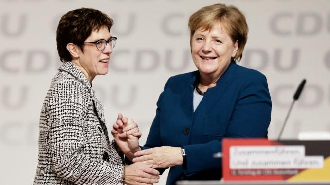 Why Angela Merkel's successor resigned -  iWONDER