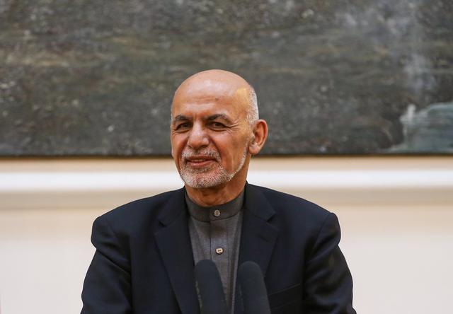 Afghan president says Pompeo reports progress in U.S.-Taliban talks