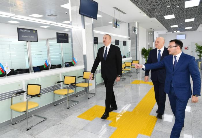 """Kürdəmirdə """"ASAN xidmət"""" mərkəzi istifadəyə verildi - FOTOLAR (YENİLƏNİB)"""