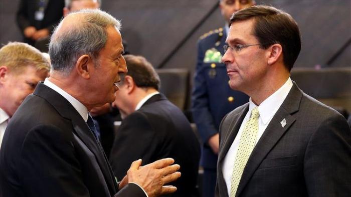 Turkish, US defense chiefs discuss Syria, Iraq