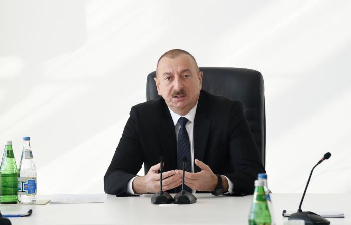 """""""Pozuntulara yol vermiş şəxslər cəzalandırılacaq"""" - Prezident (VİDEO)"""