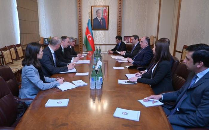 Le chef de diplomatie azerbaïdjanaise rencontre le représentant spécial de l