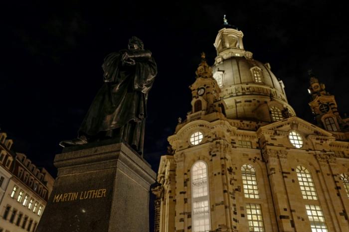 Steinmeier bei Gedenkveranstaltung zu   75.Jahrestag   der Bombardierung Dresdens