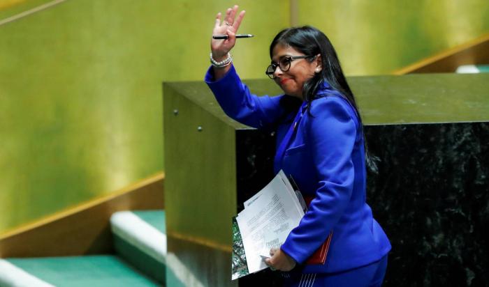 Exteriores temía desde hace meses la visita de Delcy Rodríguez