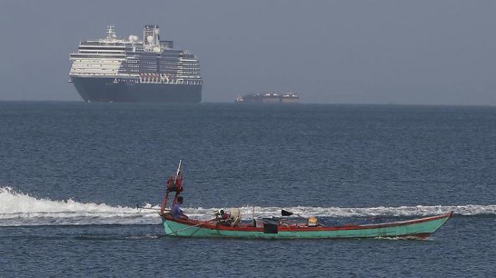 Kambodscha beendet Kreuzfahrt-Odyssee