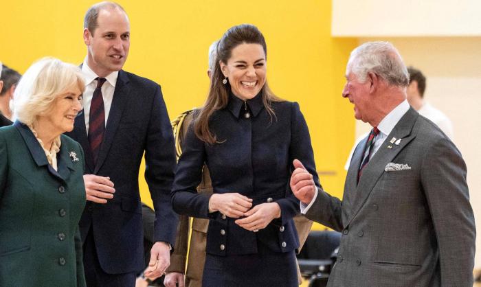 'Cuatro Maravillosos' en la corte británica para sustituir a Enrique y Meghan