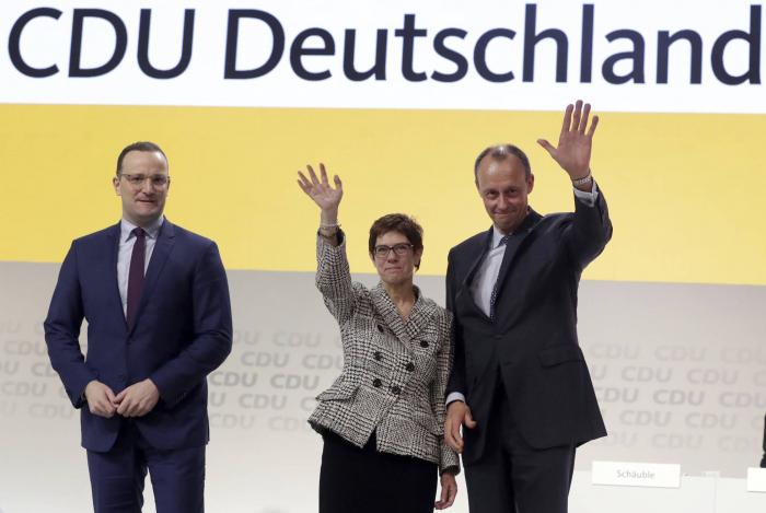Un camino repleto de incógnitas marca la carrera para suceder a Merkel en la CDU
