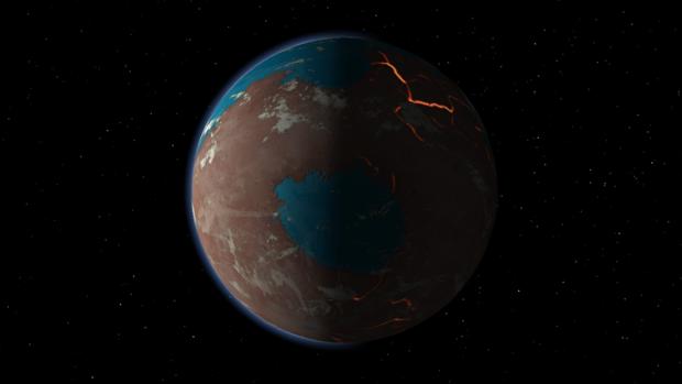 Marte también se hizo a golpes y durante mucho tiempo