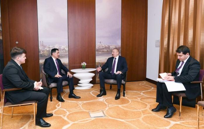 Ilham Aliyev a rencontré le secrétaire général de l