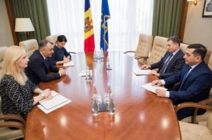 """Ion Chicu:   """"Estamos dispuestos a ofrecer las mejores condiciones a los inversores azerbaiyanos en Moldova"""""""