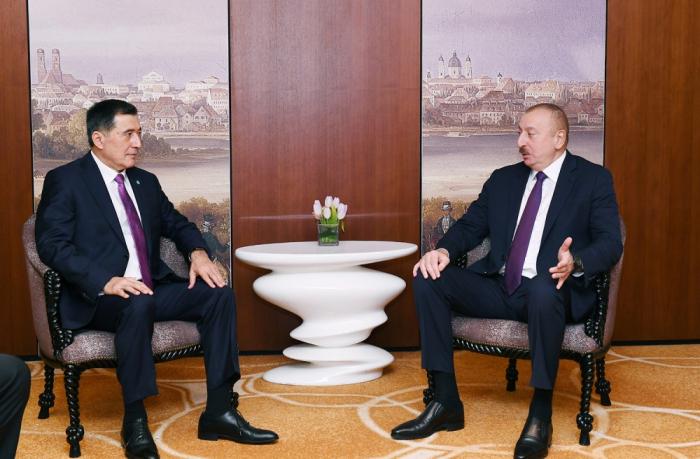 Prezident ŞƏT-in Baş katibi ilə görüşüb - YENİLƏNİB