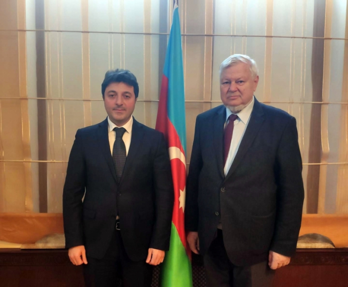 Head of Azerbaijani community of Nagorno-Karabakh region meets personal representative of OSCE chairperson-in-office