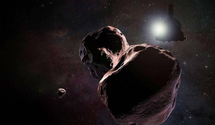 Una sonda desvela el mundo más lejano y antiguo del sistema solar