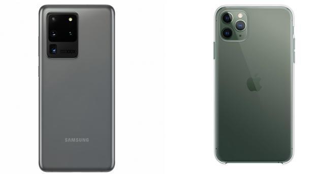 El Samsung Galaxy S20 y el iPhone 11 Pro:   ¿cuál es mejor?