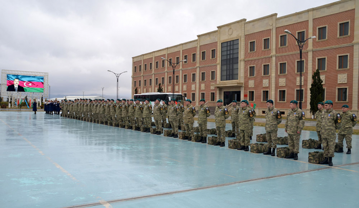 Group of Azerbaijani peacekeepers returns from Afghanistan