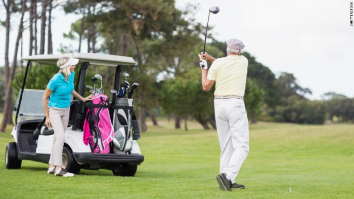 Playing golf may help older adults live longer, study says